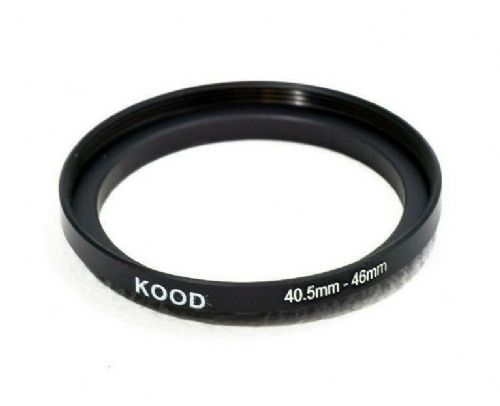 Kood Stepping Ring 40.5mm-46mm Step Up Ring 40.5 - 46mm 40.5mm to 46mm Ring UK
